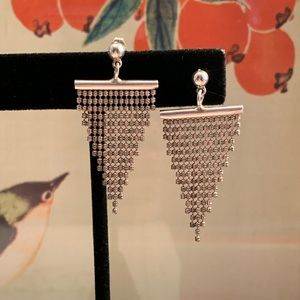Sterling Waterfall Earrings